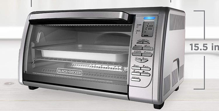 Black+Decker Countertop Convection Toaster, Oven