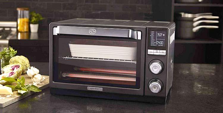 Calphalon Tscltrdg1 Quartz Heat Countertop Toaster Oven